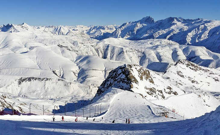 Slidinėjimo kurortas Alpe d'Heuz