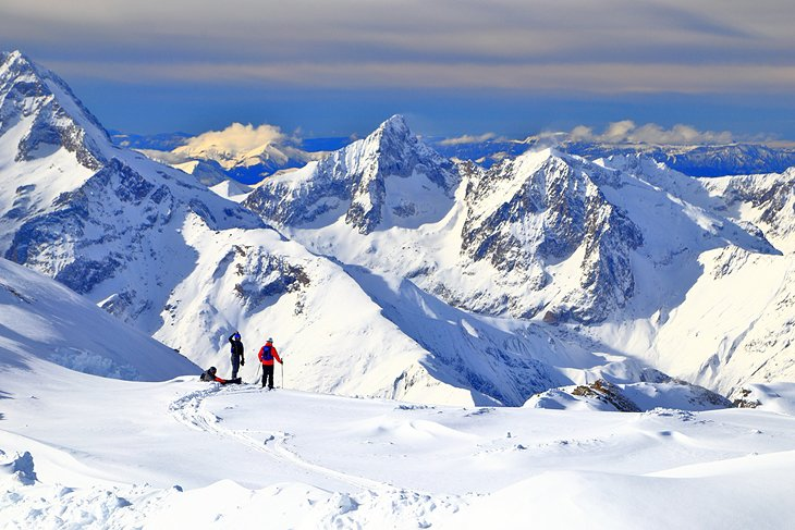 Slidinėjimo kurortas Les deux Alpes