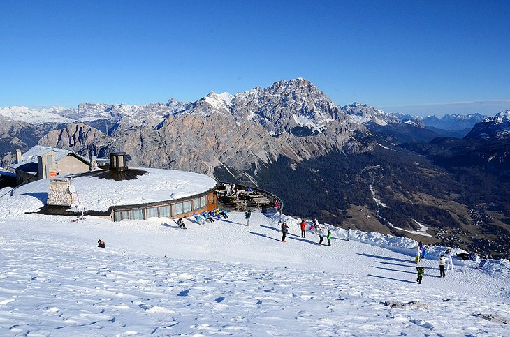 Slidinėjimas Cortina d'Ampezzo